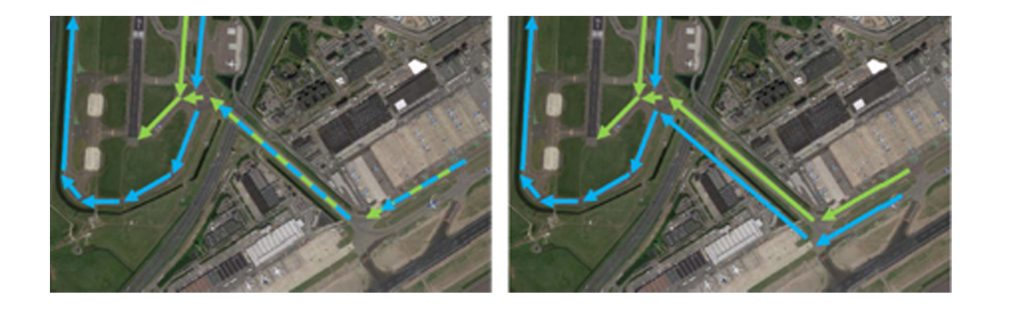 Doubling of the Quebec Taxiway